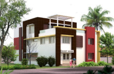 Guest house facility for Vel's college